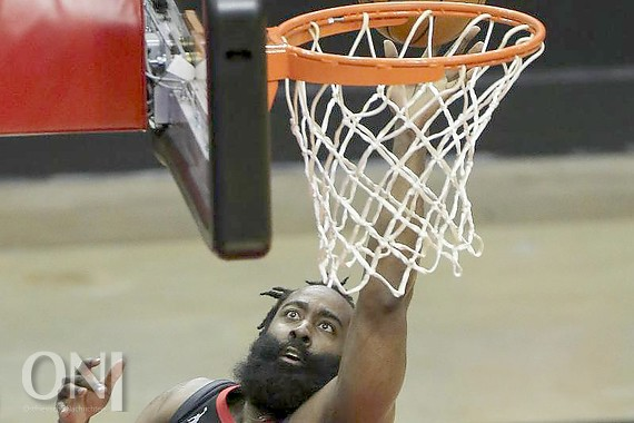 James Harden verlässt die Houston Rockets. Foto: Yi-Chin Lee/Houston Chronicle/dpa