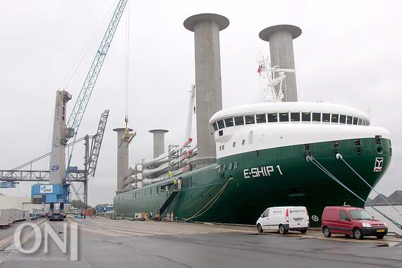 E Ship 1 Im Emder Hafen Gerammt Ostfriesische Nachrichten