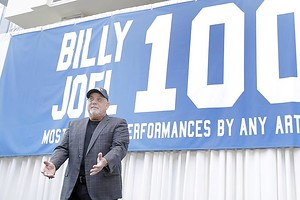 Billy Joel hat sein 100. Konzert im Madison Square Garden gespielt. Foto: Richard Drew/AP