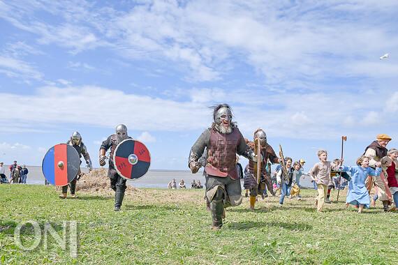 Norddeich: Wikingerfest mit 200 Darstellern ...